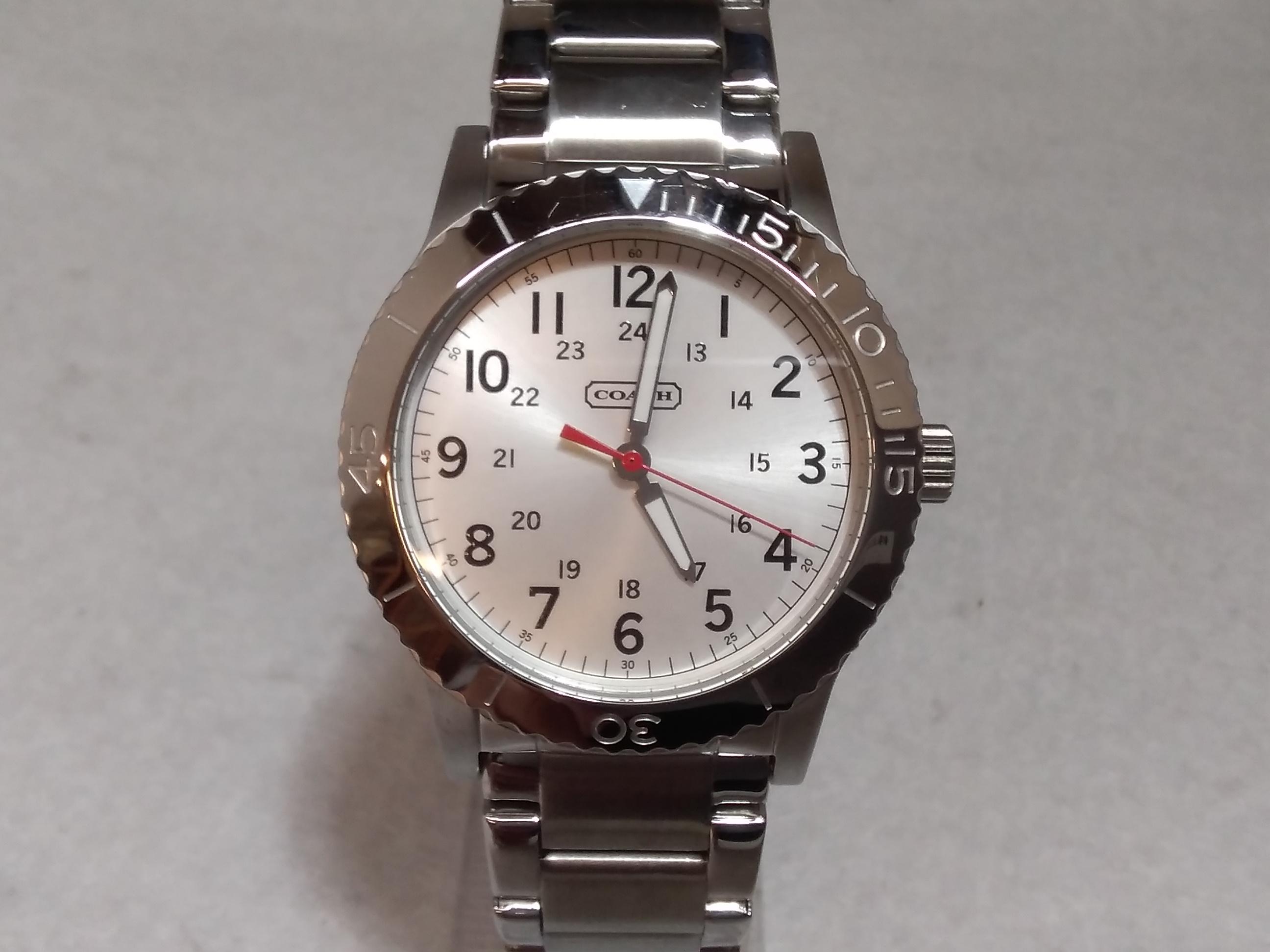 クォーツ腕時計|COACH