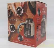 未使用品!!豆からいれる本格全自動式コーヒーメーカー|TESCOM