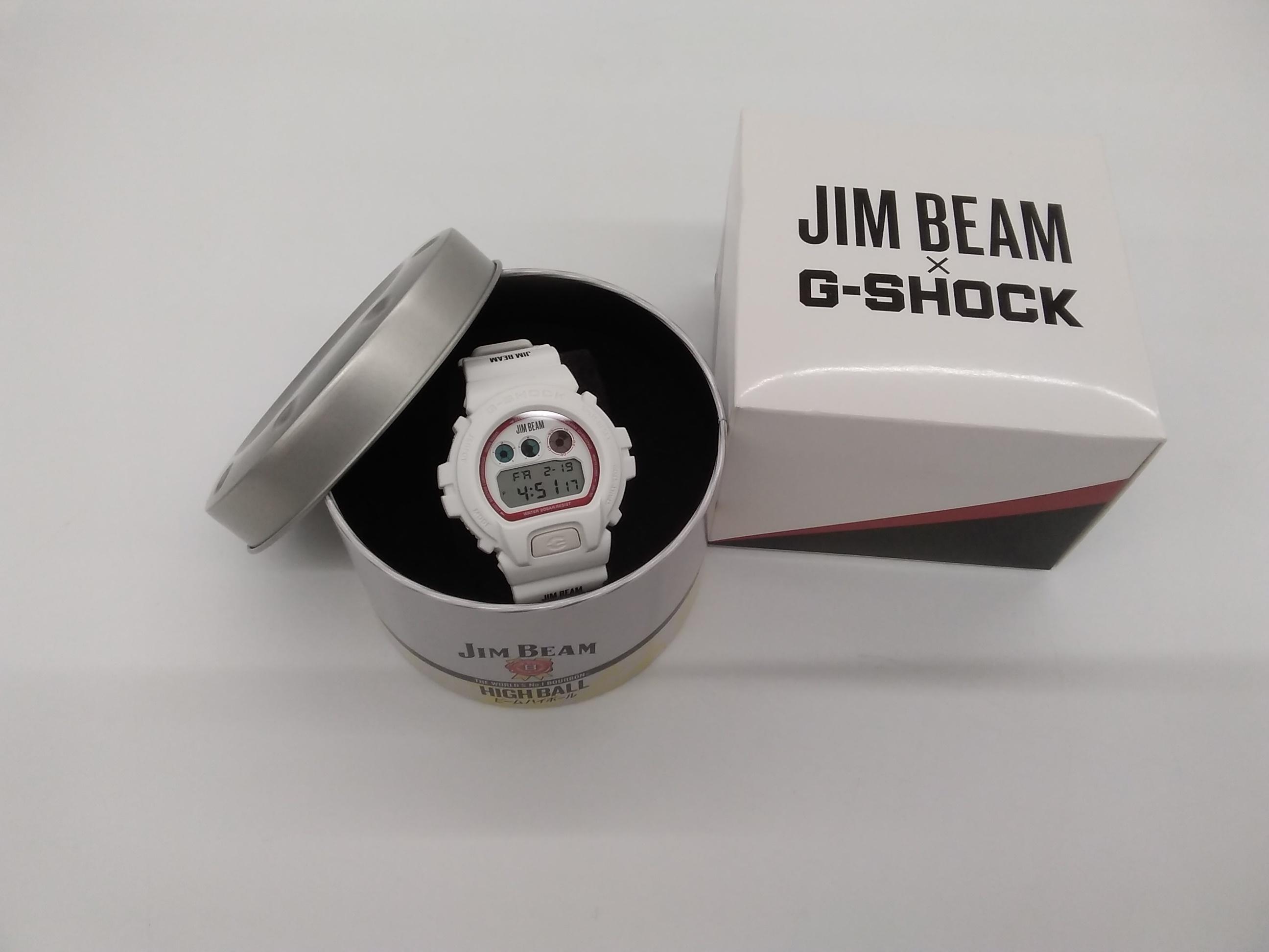 限定モデル☆G-SHOCK×JIM BEAM|CASIO