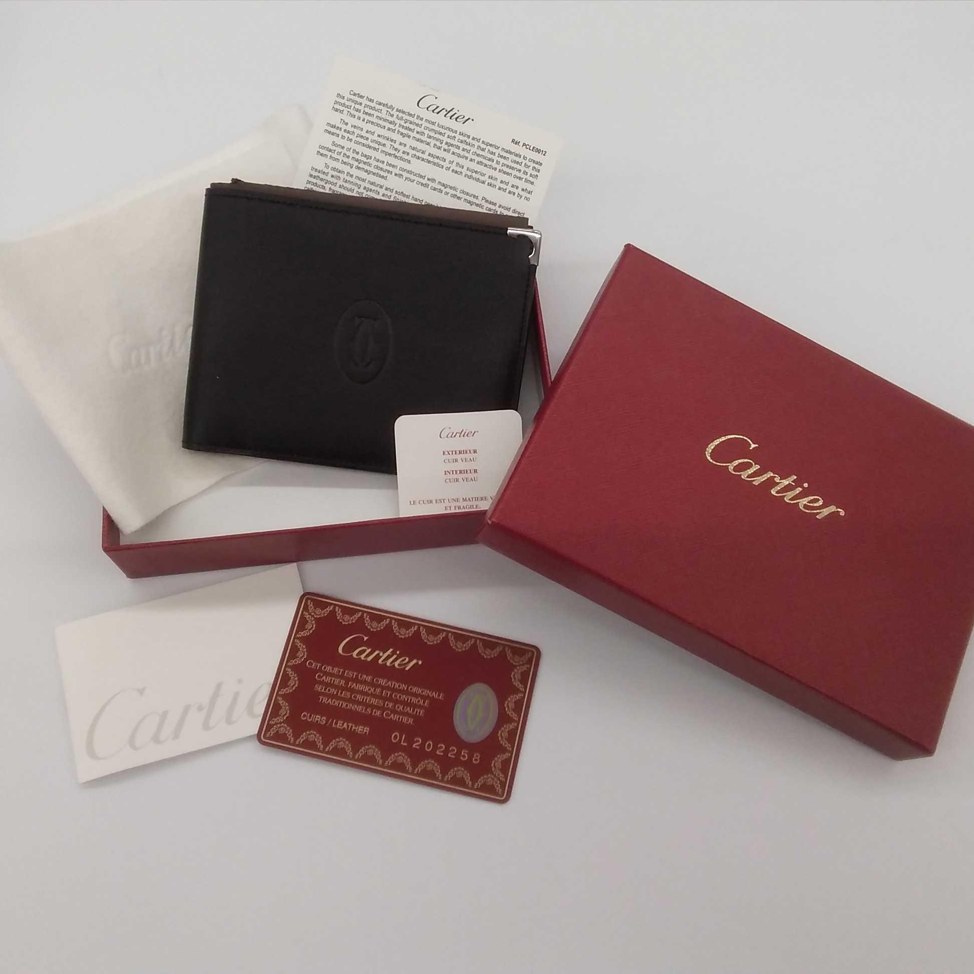 カルティエ☆二ツ折財布|CARTIER