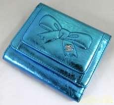 3つ折りリボン財布|CHANEL