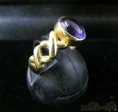 リング(紫石)|宝石付きリング