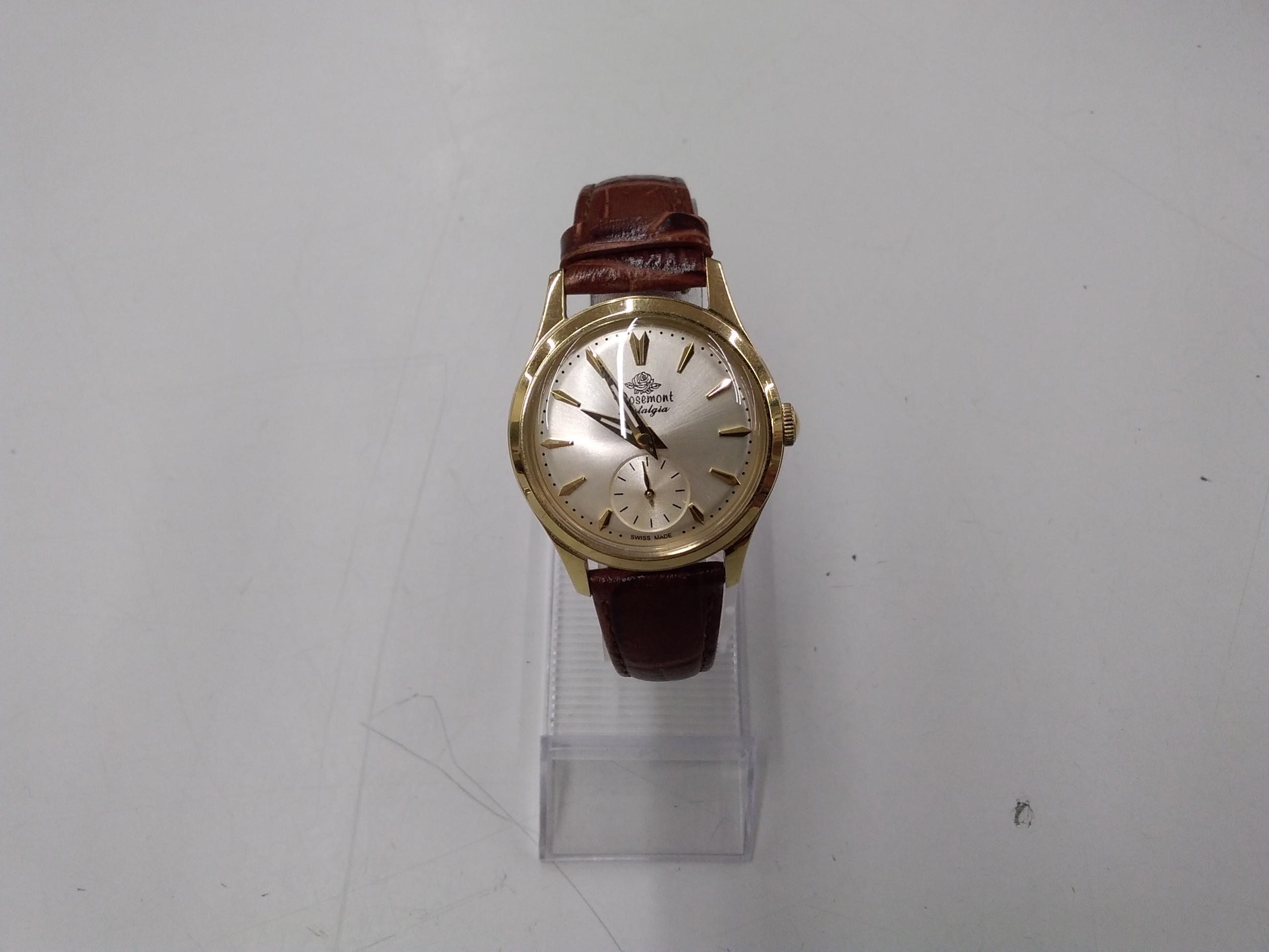 クォーツ腕時計 ROSEMONT