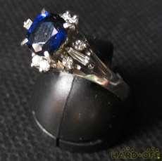 プラチナ|宝石付きリング