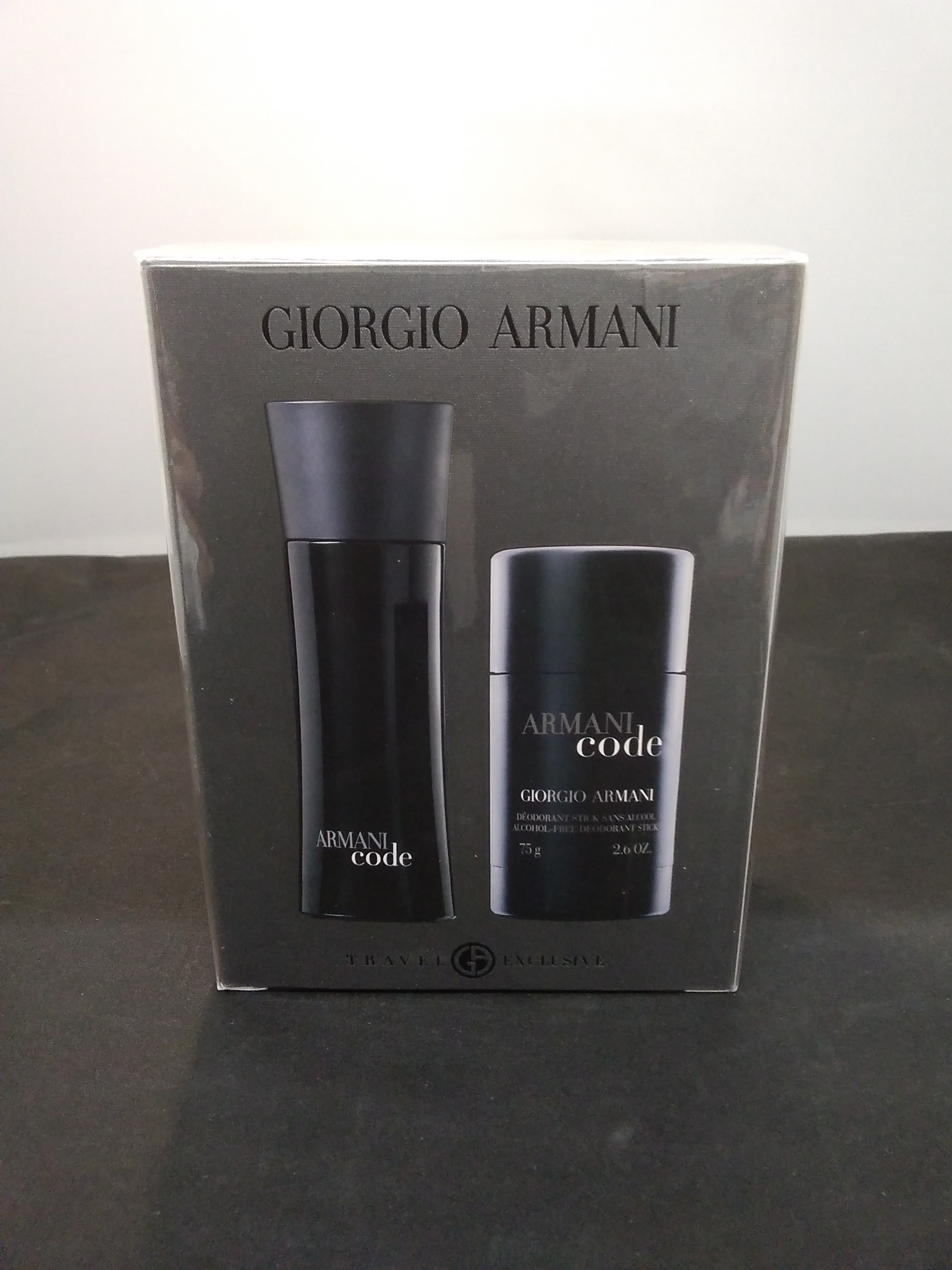 ナチュラルスプレー&デオドラントスティック|Giorgio Armani