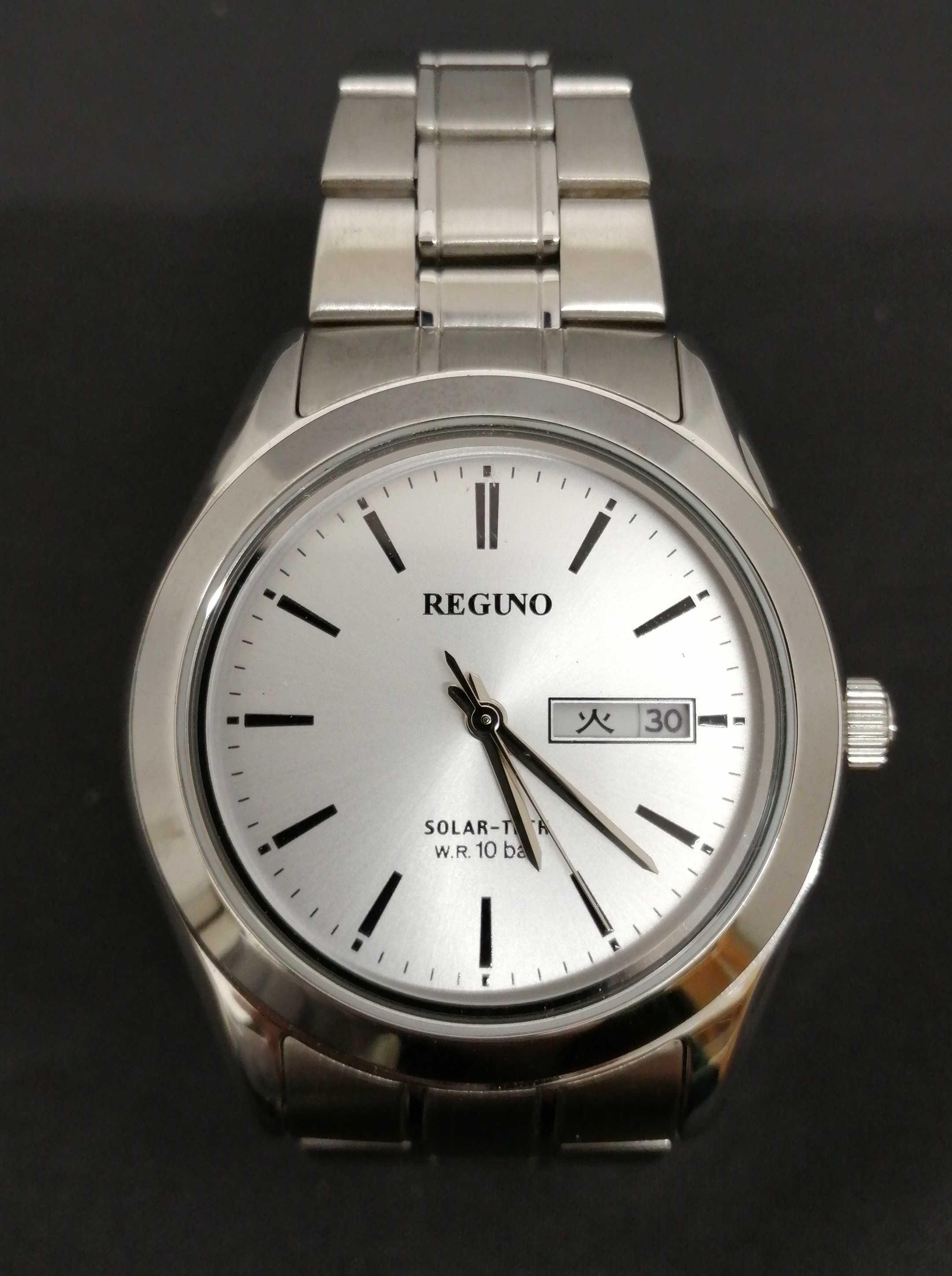 ソーラー腕時計|REGUNO