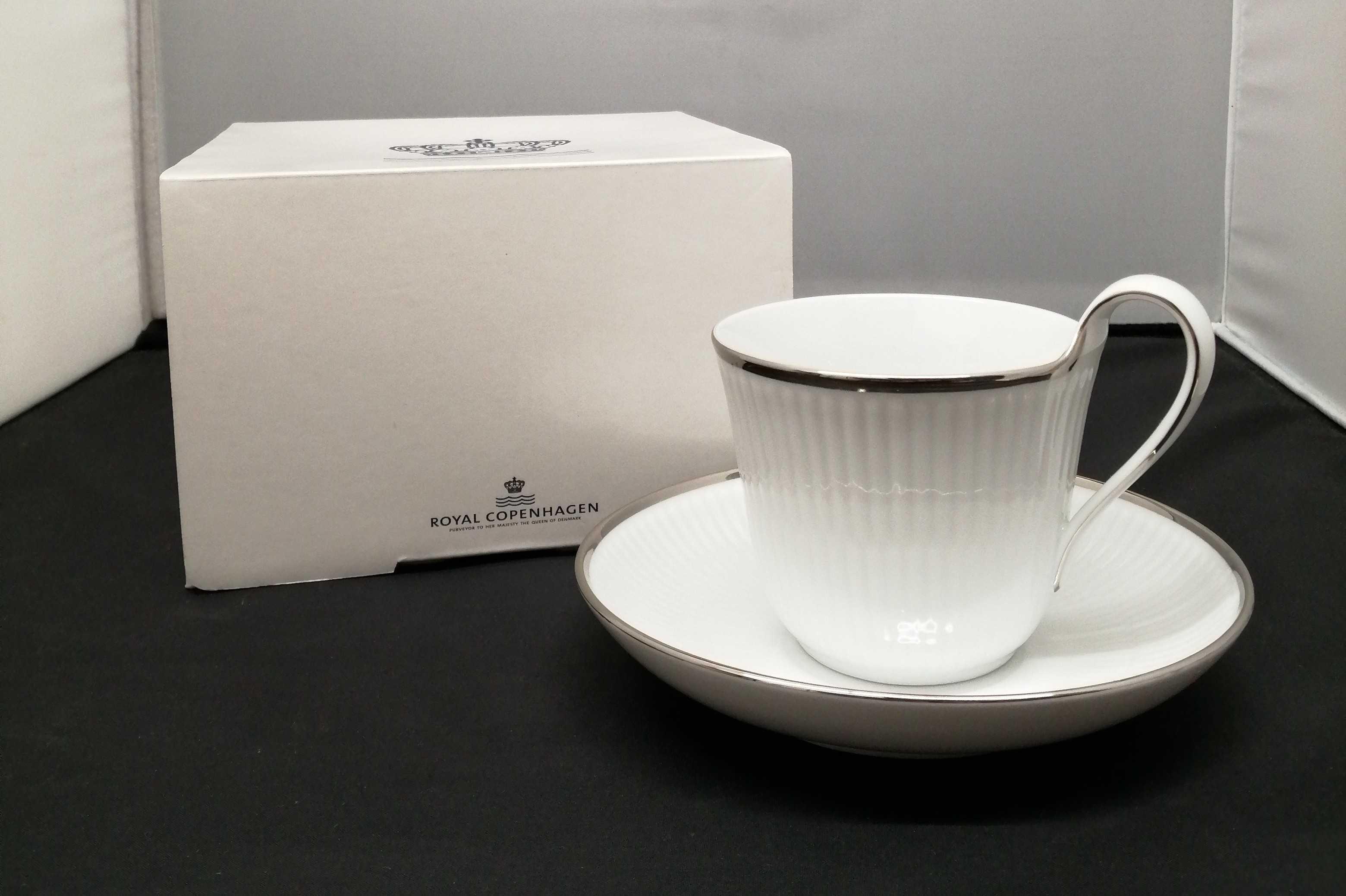 ハイカップ&ソーサー|Royal Copenhagen