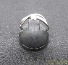 PT900透明石リング|宝石付きリング