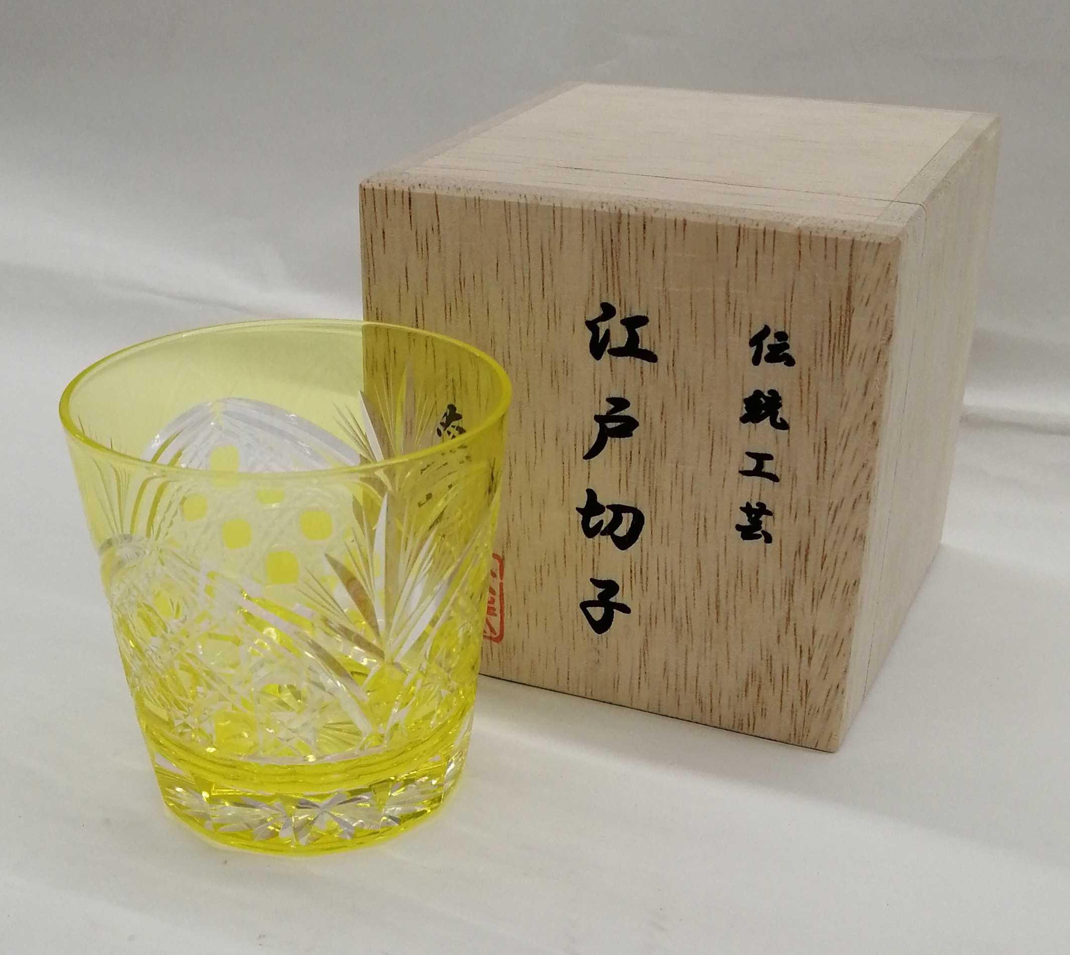 フリーカップ|江戸切子