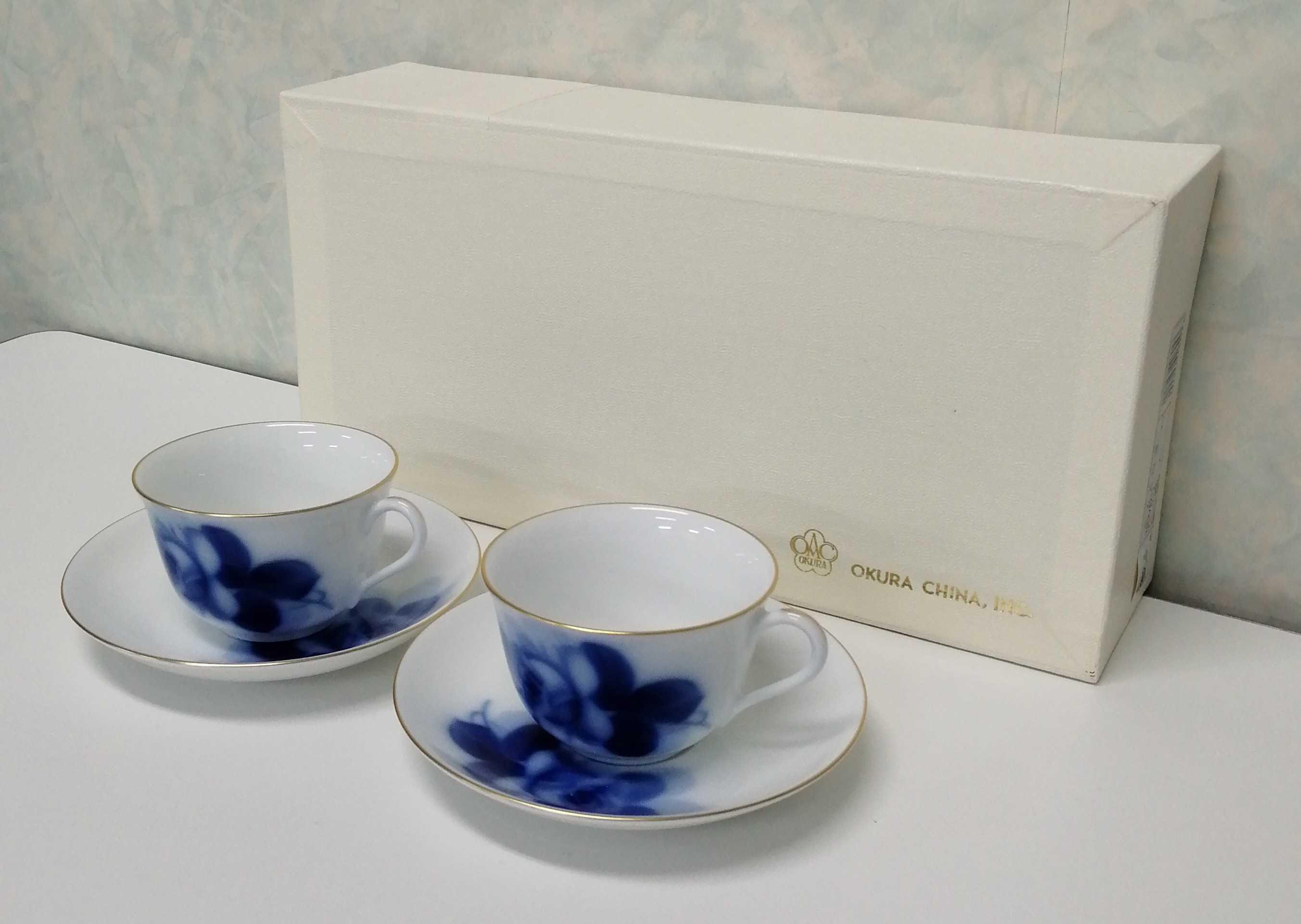 ペアコーヒーカップ&ソーサー|大倉陶園
