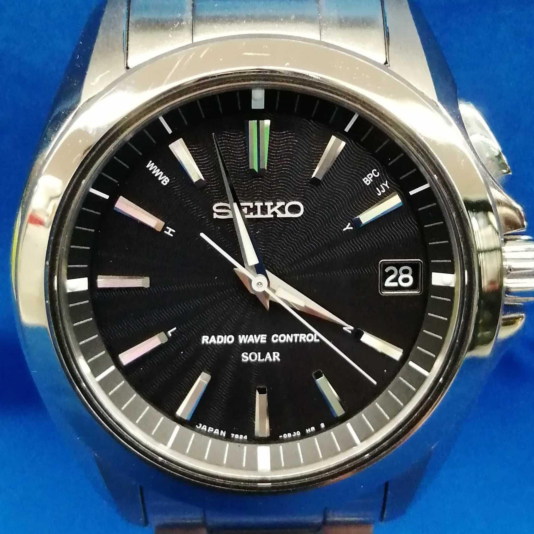 電波ソーラー腕時計 SEIKO