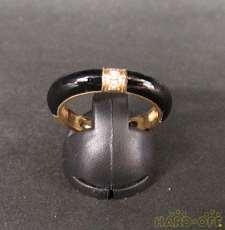 黒石付リング|宝石付きリング