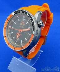 ダイバーズウォッチ チタンシリーズ オレンジ 腕時計 VOSTOK EUROPE
