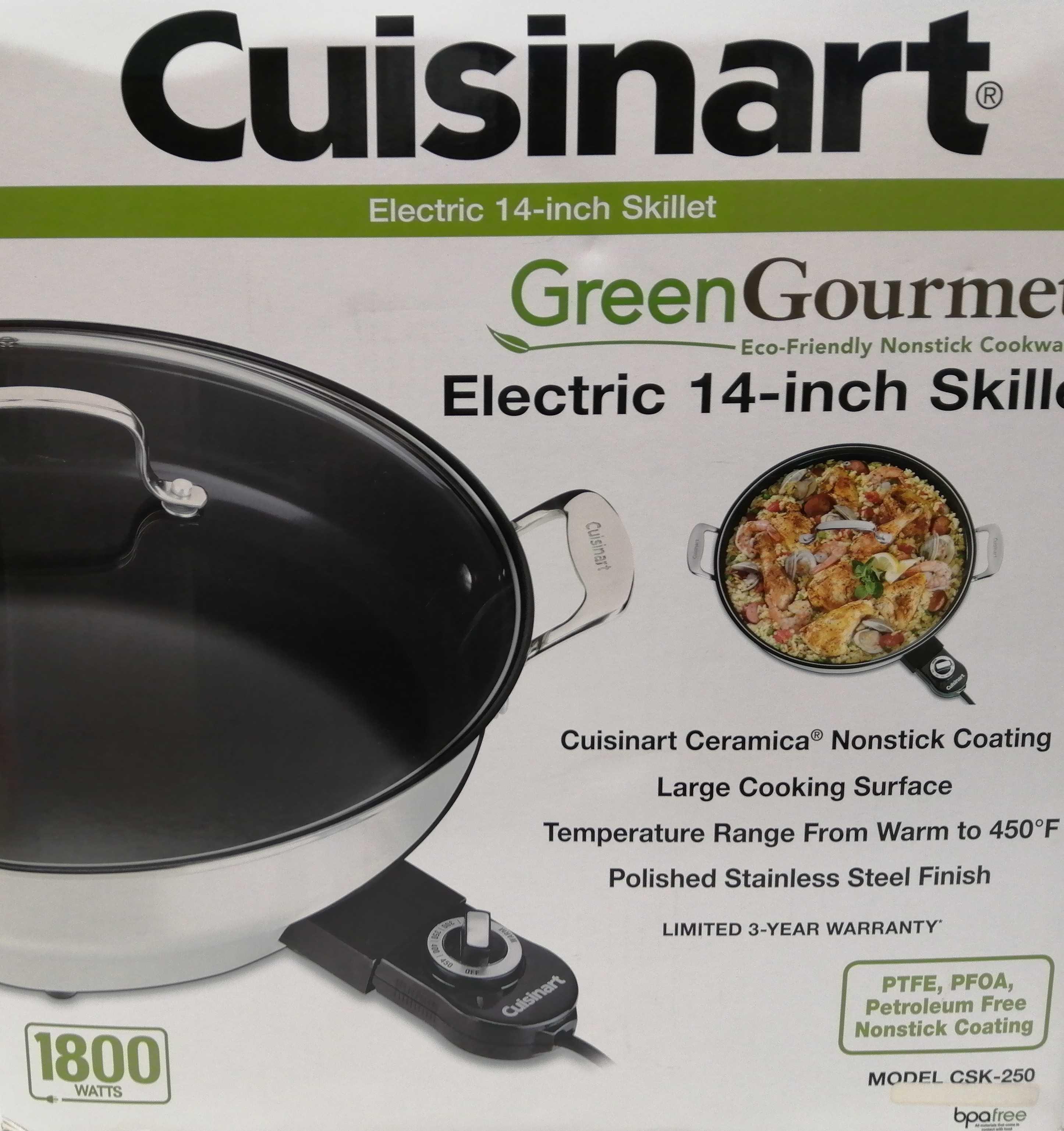 電気グリル鍋 CUISINART