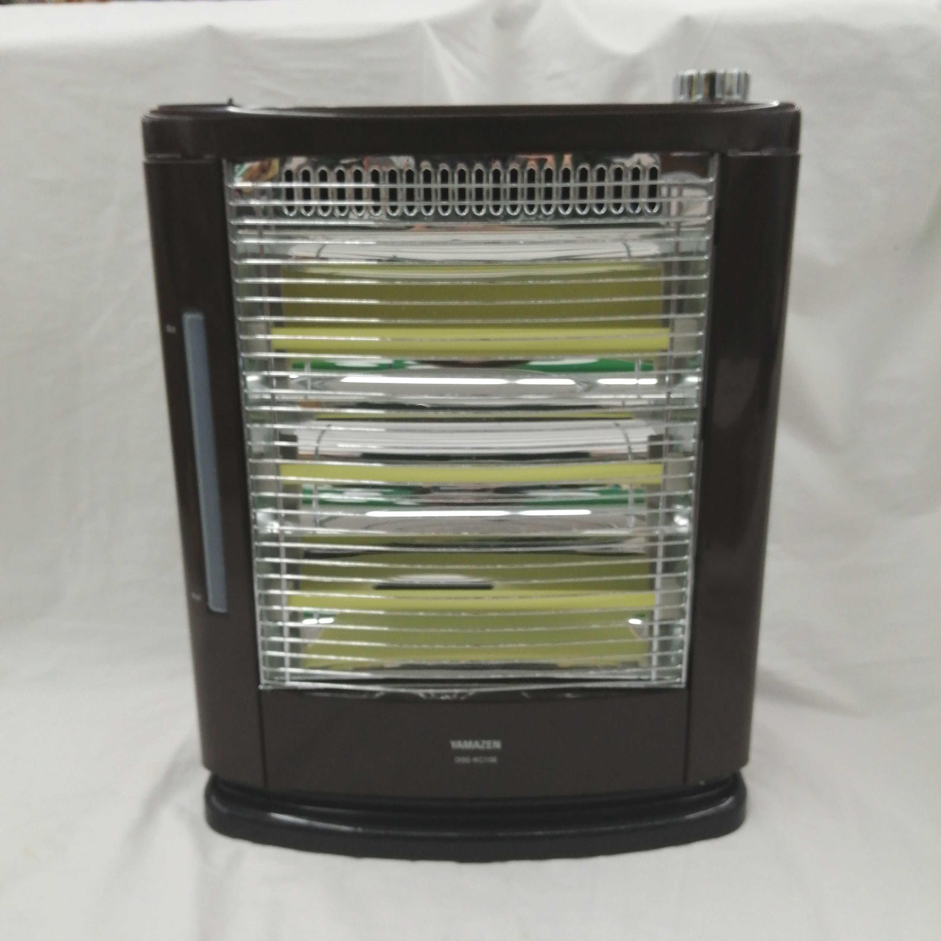 加湿機能付き 遠赤外線電気ストーブ|YAMAZEN