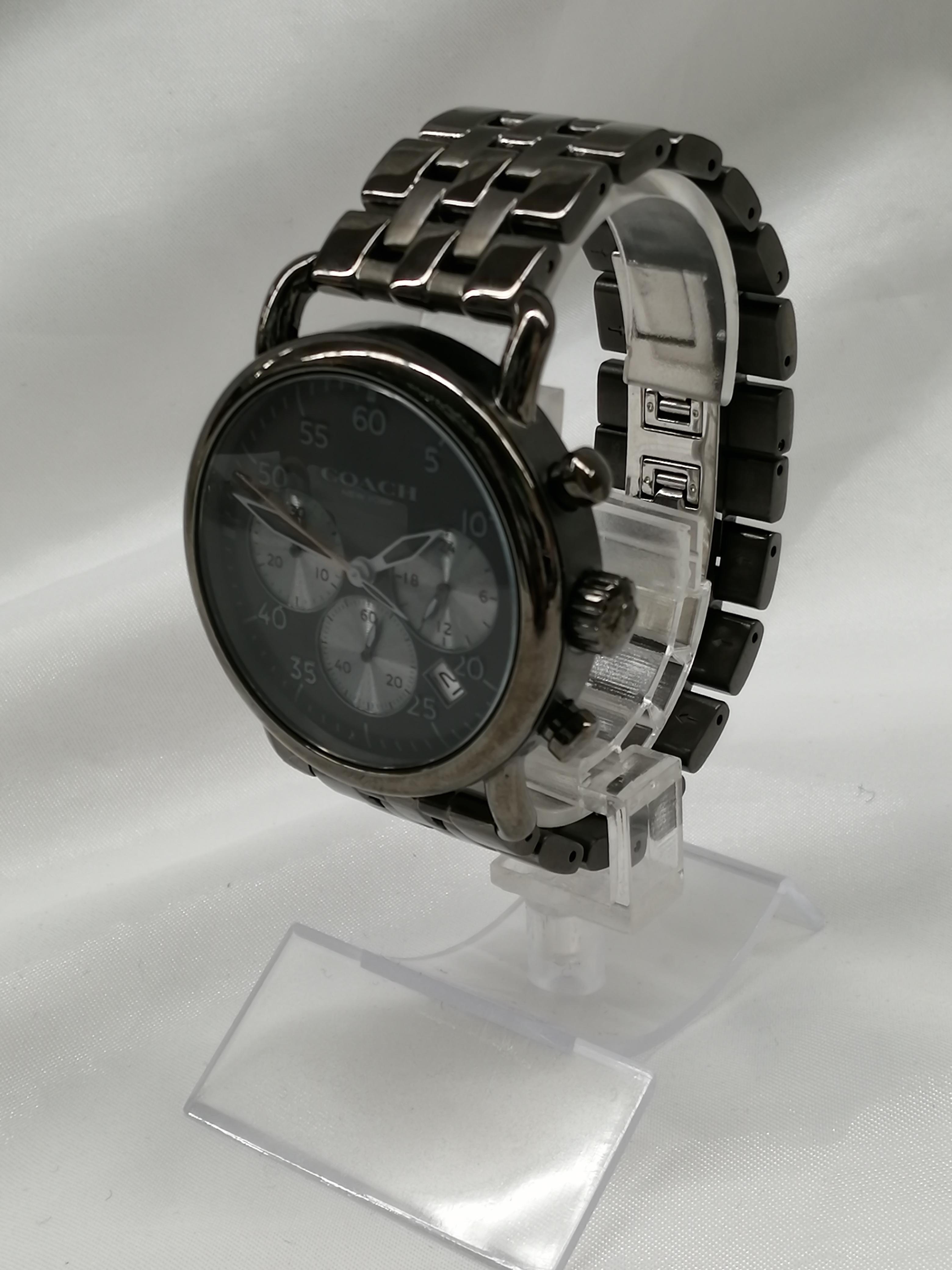 クロノグラフ・クォーツ腕時計|COACH