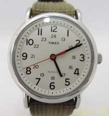 クォーツ腕時計(カーキ)|TIMEX