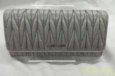 マテラッセ 二つ折り財布|MIU MIU