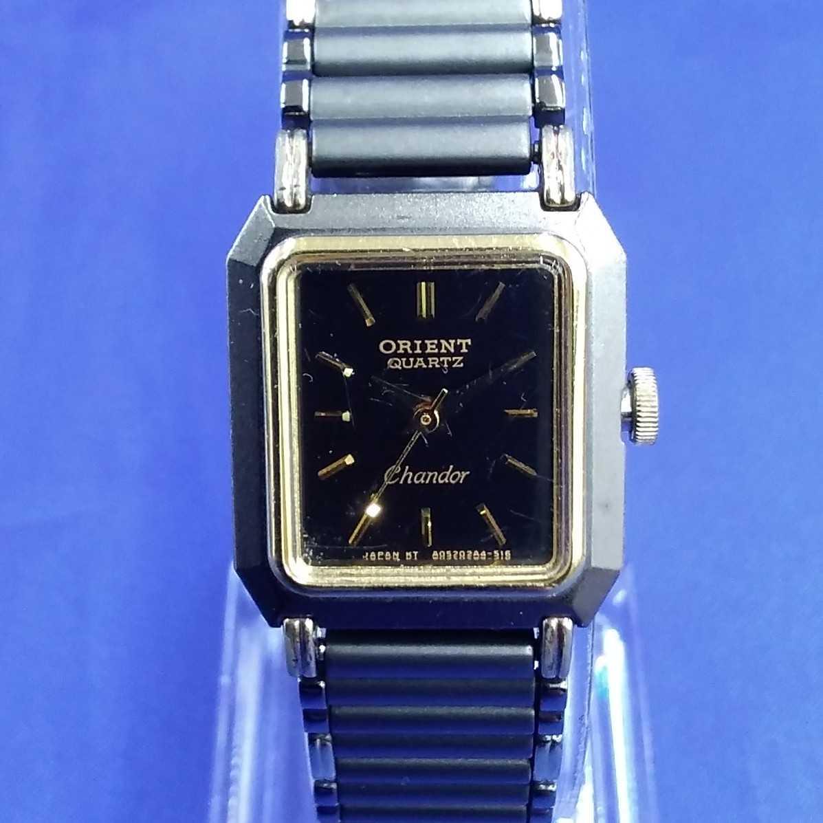 ORIENT chandor クォーツ腕時計 ORIENT