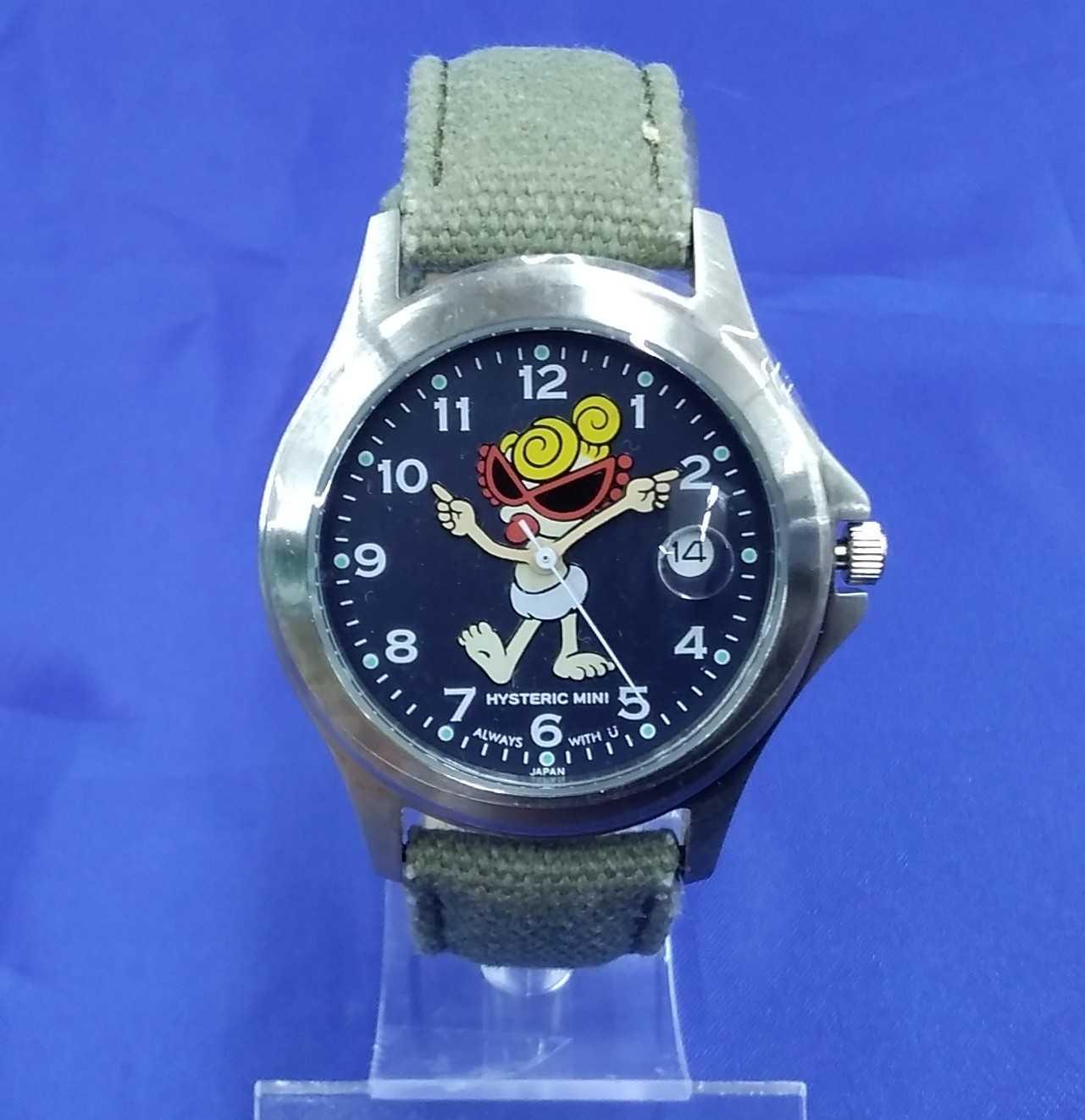 ヒステリックミニ アナログ腕時計 HYSTERIC MINI
