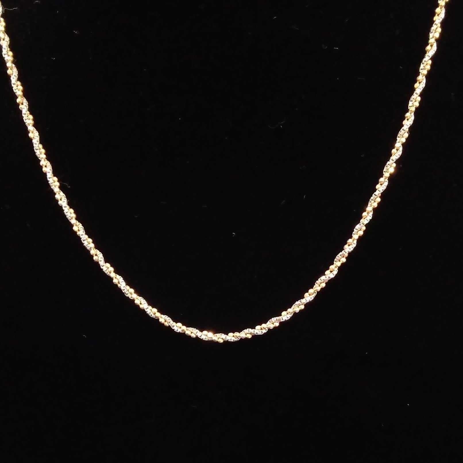 K18PT850ネックレス 宝石無しネックレス