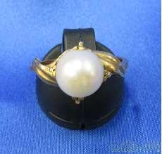 K18|宝石付きリング