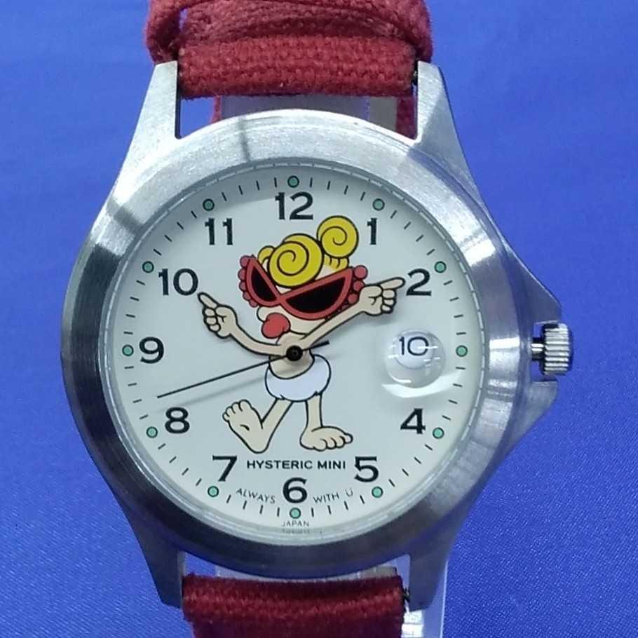 ヒステリックミニ クォーツ腕時計 HISTERIC MINI