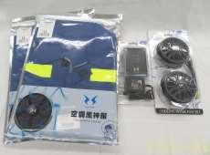 未使用品 空調風神服×2 ファン バッテリーセット 空調服|サンエス