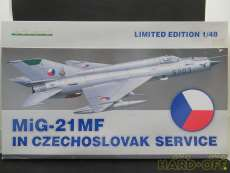 1/48 MiG-21MF IN CZECHOSLOVAK|EDUARD
