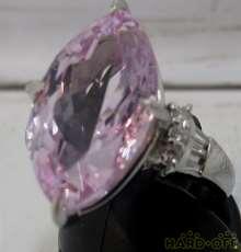 プラチナ 宝石付きリング