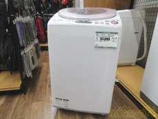 全自動電気洗濯機|SHARP