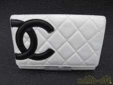 カンボンライン 二つ折財布|CHANEL
