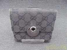 サークルプレート折財布|GUCCI