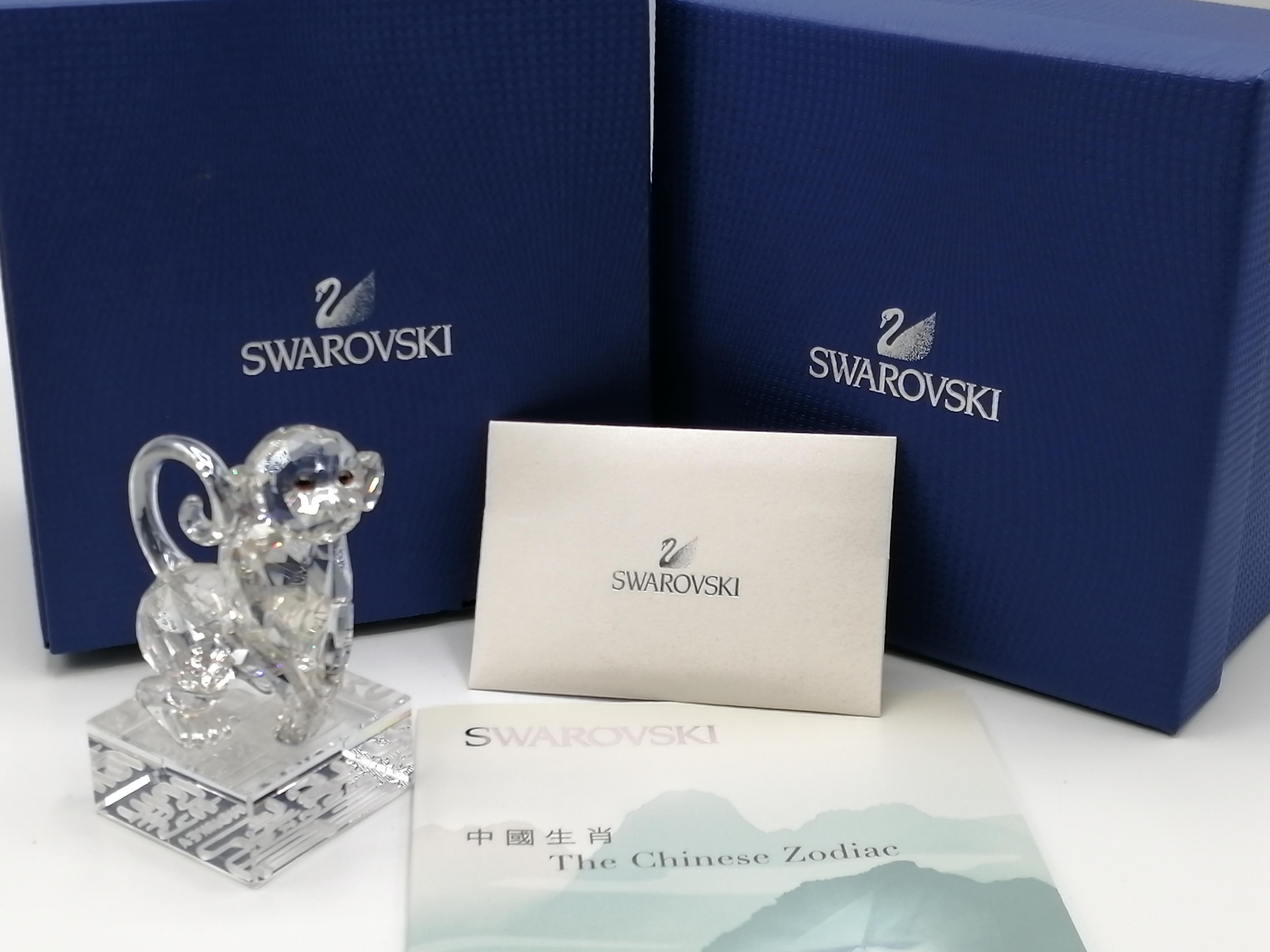 スワロフスキー サル 置き物|SWAROVSKI