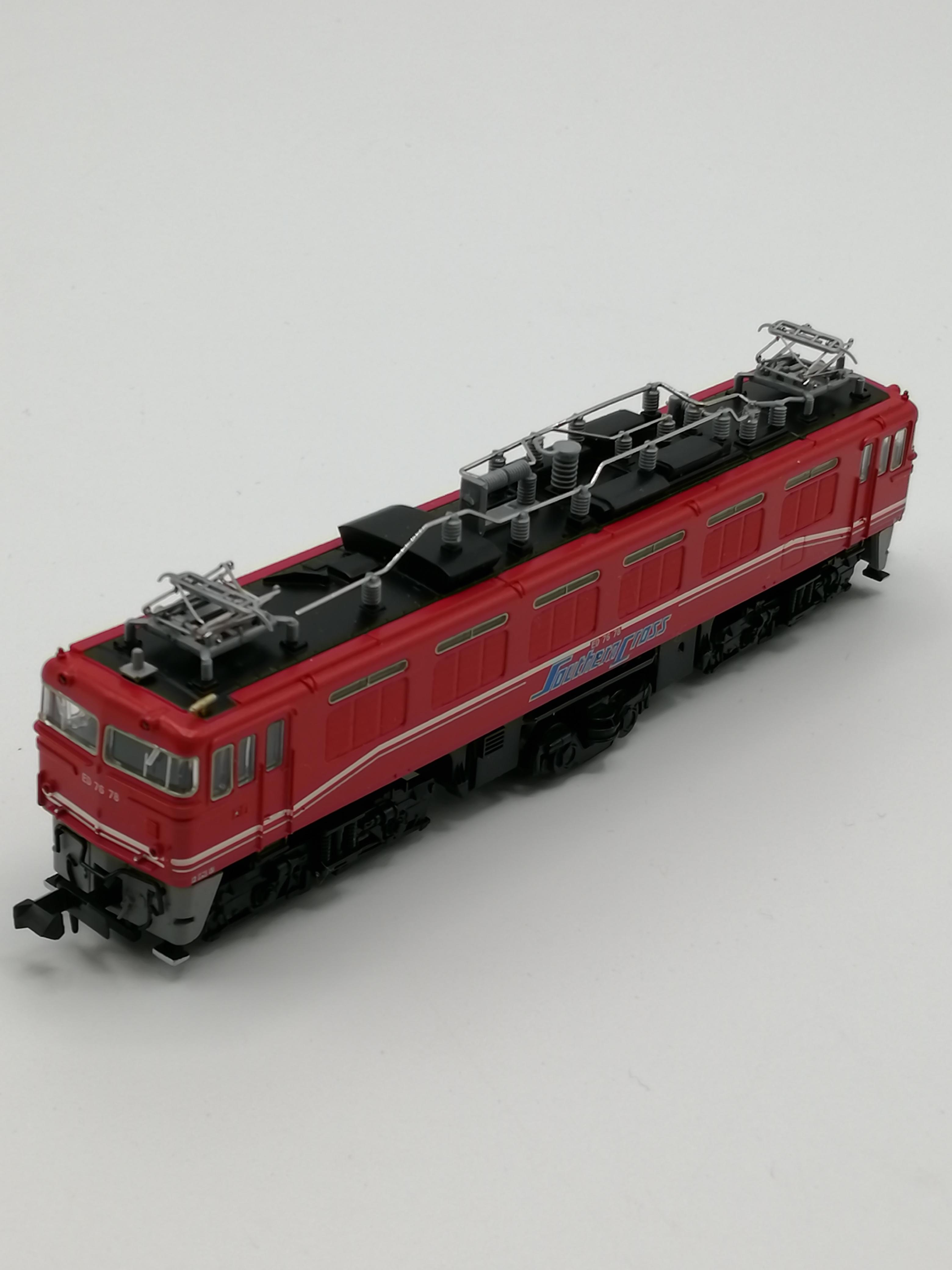 Nゲージ ED76-78パノラマライナー・サザンクロス牽引機|MICRO ACE