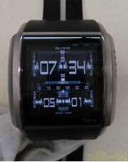 クォーツ・デジタル腕時計 SLYDE