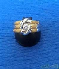 K18 Pt900 ダイヤモンドリング -