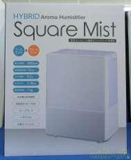 未使用 ハイブリッド加湿器 Square Mist|THREE-UP