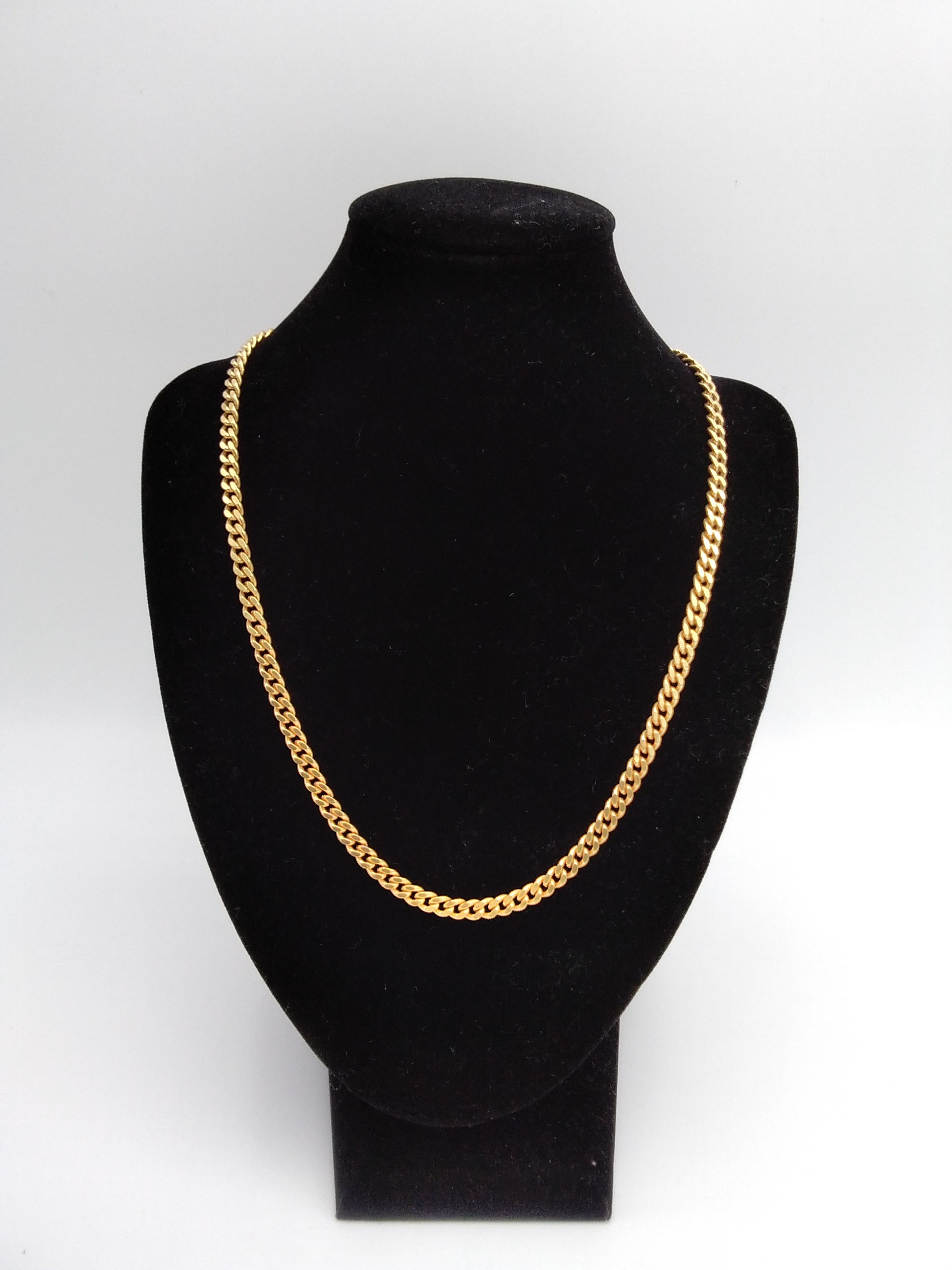K18喜平ネックレス|宝石無しネックレス