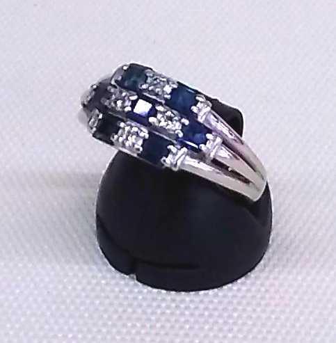 PT1000リング|宝石付きリング