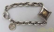 K18ダイヤモンドシェイプチェーンブレスレット|FIRST ARROWS
