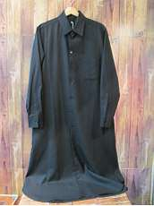 ロングシャツドレス|GROUND Y