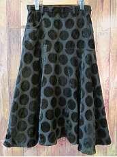 ドット柄変形スカート|Y'S