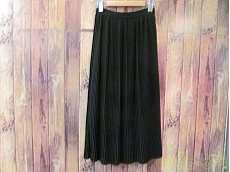 プリーツロングスカート|CLANE