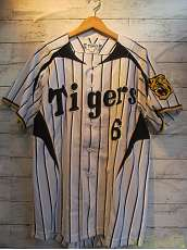 TIGERSベースボールシャツ|MIZUNO