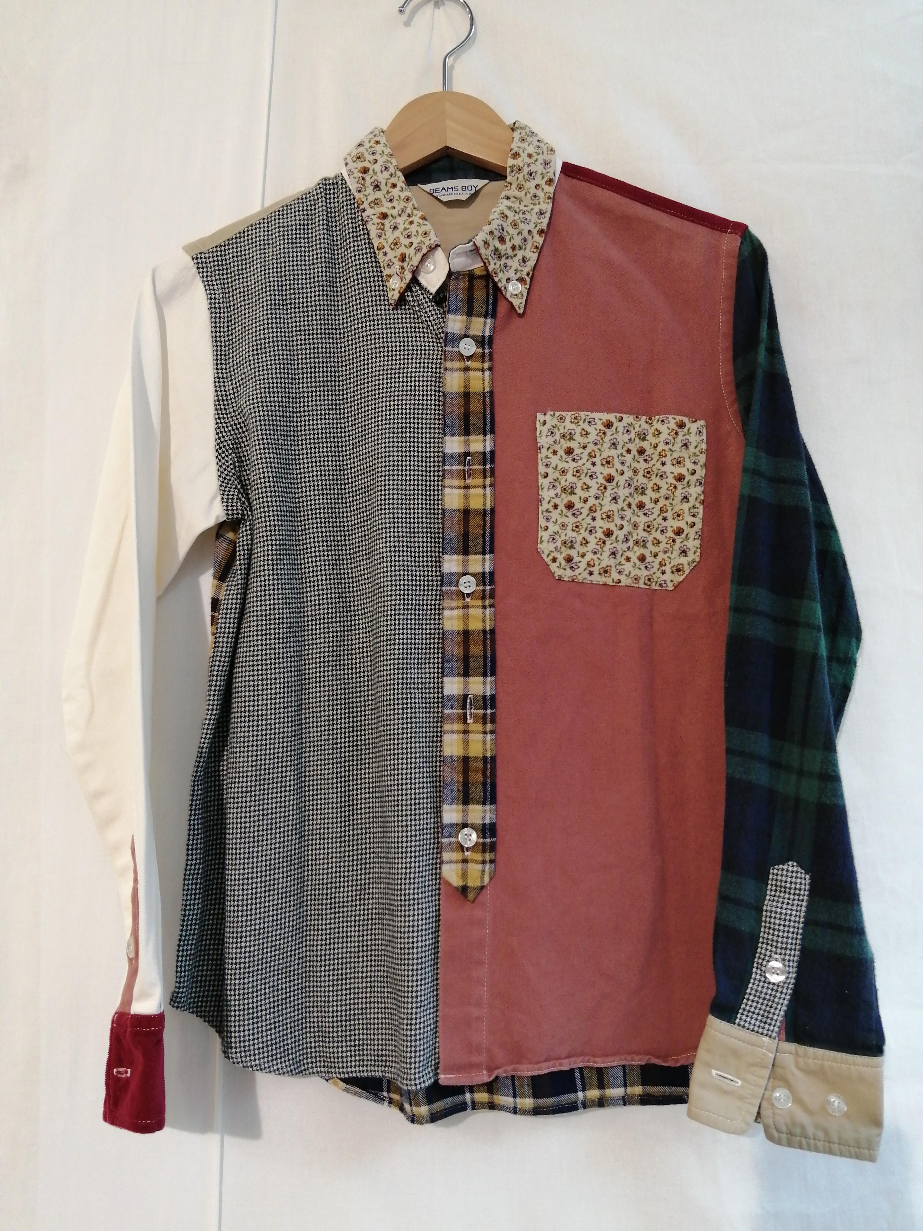 パッチワークシャツ|BEAMS BOY