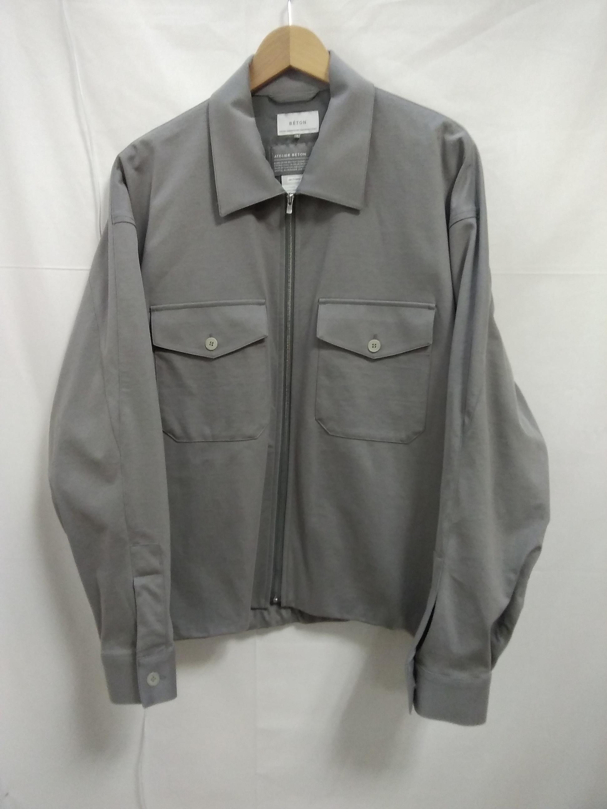 コフォードフルジップジャケット|ATRIER BETON