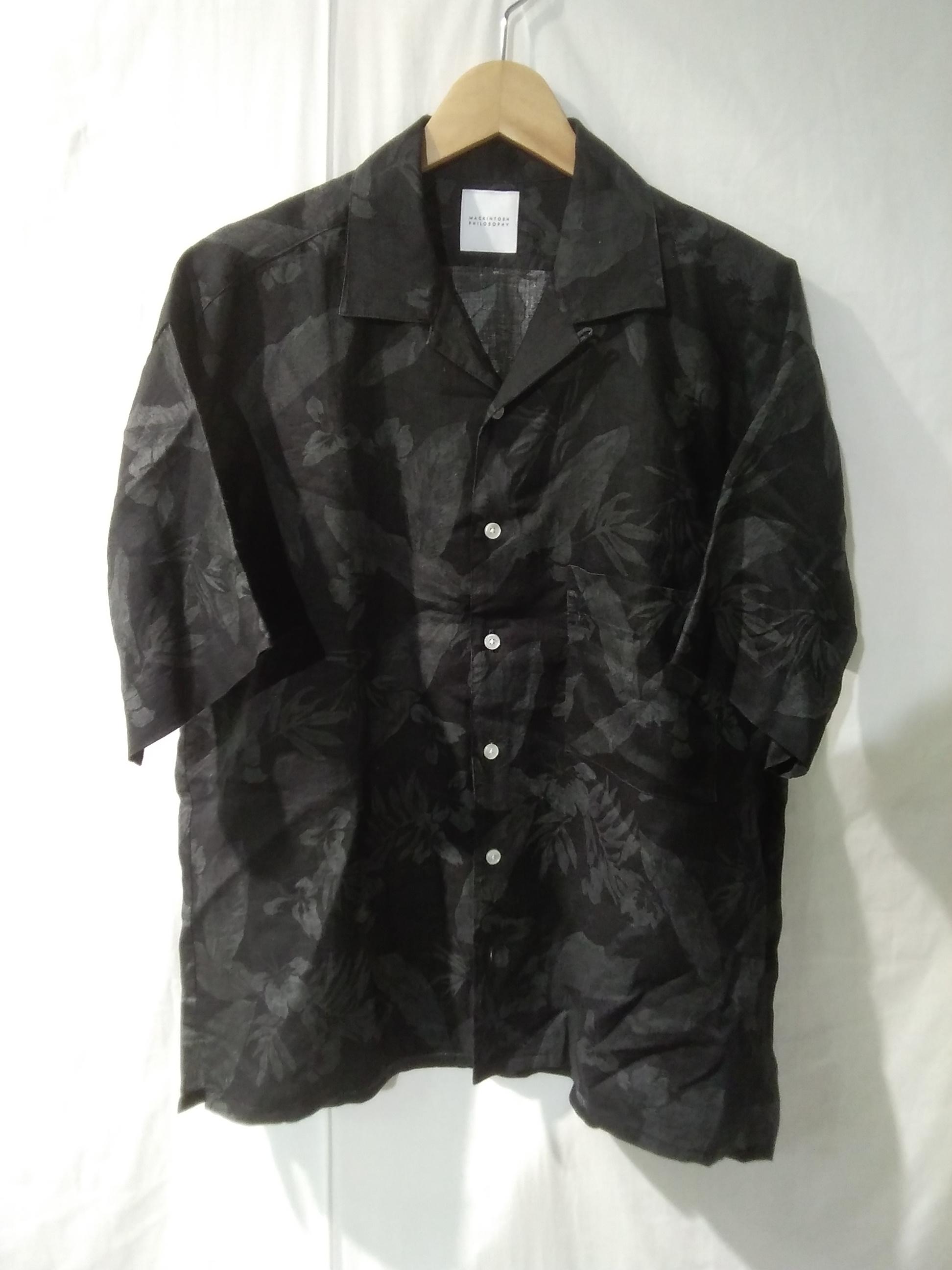 リネンオープンカラーシャツ MACKINTOSH PHILOSOPHY