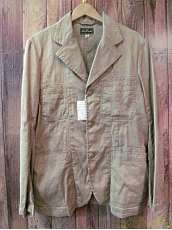 リネンコットンワークジャケット|DRY BONES