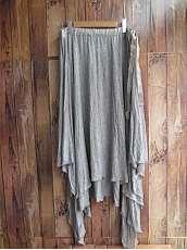 レーヨン変形スカート|MM6